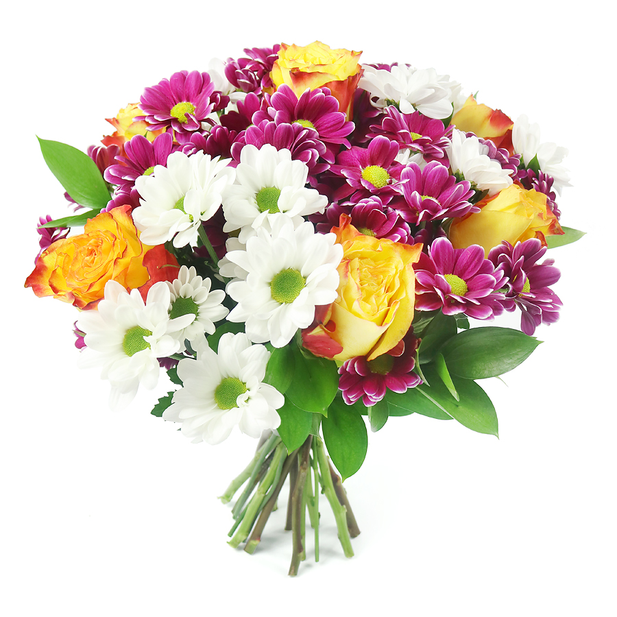 Stunning Rainbow Flower Bouquet Specially Designed to Impress.