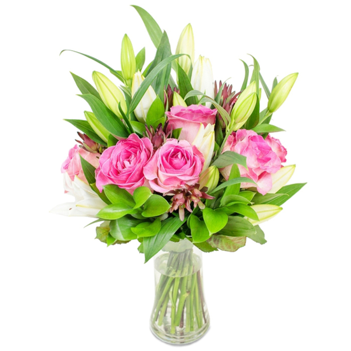 Crush On You is a Stunning Flower Bouquet Carefully Arranged by Professional Florist