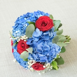I CHERISH YOU BRIDESMAID BOUQUET