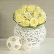 WHITE WONDERS TABLE CENTERPIECE